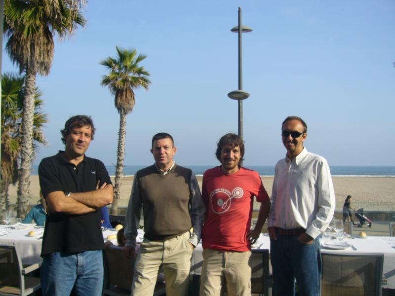 (2012) - Hernan De Battista, Jesus Picó, Fabricio Garelli and Jose Luis Navarro
